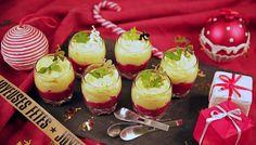 Des petites verrines pour un apéro réussi ! Caramel Apples, Salads, Cherry, Appetizers, Fruit, Desserts, Caramel Apple, Drinks, Kitchens