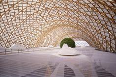 Hannover Expo Japan Pavilion | Germany | Shigeru Ban | photo © Hiroyuki Hirai