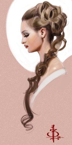 timed head sketch 1094 by FUNKYMONKEY1945.deviantart.com on @DeviantArt