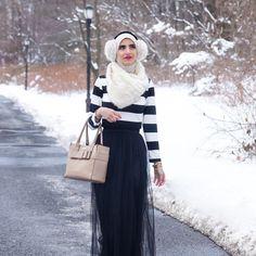@faten.odeh Skirt by @hijup Photo Credit: @_jennamasoud MakeUp: @dandana_makeup