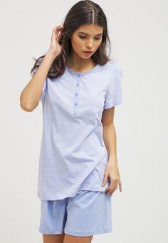 Schiesser POSITANO - Pyjamas - hellblau for with free delivery at Zalando Positano, Pyjamas, Free Delivery, Best Gifts, Tunic Tops, Women, Fashion, Light Blue, Moda