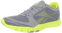 Reebok Women's Your Flex Trainette Cross-Training Shoe,Flat Grey/Solar Green,5 M US Reebok,http://www.amazon.com/dp/B007ZLDTR8/ref=cm_sw_r_pi_dp_f95Hrb14WTZZGNDT