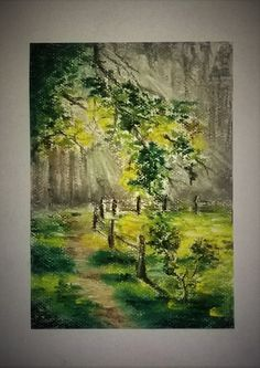 Forest/pastel