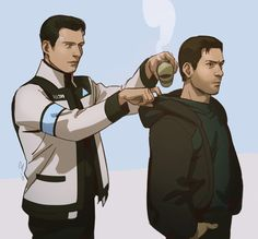 RK900 doing what RK800 wished to do lmao