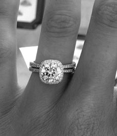 Maybe add a halo setting to my ring? Sounds like a great anniversary gift!! :)