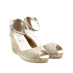 Gaimo Susan Leather Wedge Espadrilles | Spanish Fashion - SPANISH SHOP ONLINE | Spain @ your fingertips #gaimo #susan