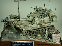 Constructive Comments Discussion Group: M109 Paladin OIF -Desert Hulk 2.0- mission complete....