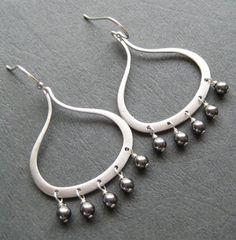Pearl Chandelier Earings
