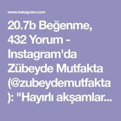 """20.7b Beğenme, 432 Yorum - Instagram'da Zübeyde Mutfakta (@zubeydemutfakta): """"Hayırlı akşamlar. Pastane usulu mis gibi bir Şerbetli tatlı tarifim var bugün. Yiyenlerin tarif…"""""""