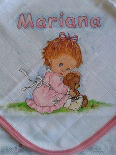 Abela Artes & Artesanato - O Blog: Fraldas para bebe - Pintadas