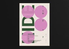 A poster collection on Behance