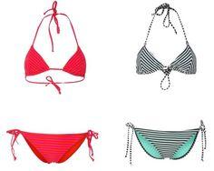 Roxy Tiki Tri Bikini Love Struck True Black biquinis True Tri Tiki Struck roxy LOVE black Bikini Noe.Moda