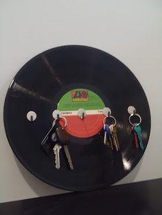 Vinyl key holder