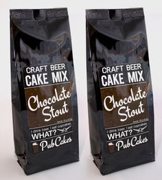 Chocolate Stout Beer Cake Mix | If our two favorite things are craft beer and cupcakes (and th... | Cupcakes