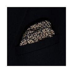 Leo-Knit Printed Silk Pocket Square - Lord Dotte
