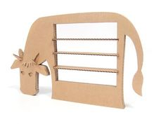 Carboard things by Nadya Dundere, via Behance