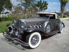 1933 Duesenberg II Murphy Roadster - (Duesenberg Automobile & Motors Company, Inc. Auburn, Indiana,1913-1937)