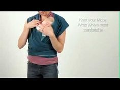 How to: Kangaroo Wrap and Hold #mobywrap #babywearing