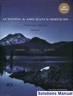 Test bank downloadable for auditing and assurance services a auditing and assurance services 6th edition louwers solutions manual test bank solutions manual fandeluxe Image collections