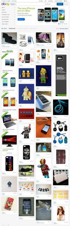 Web Inspiration, Website, Iphone, Ebay