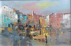 Branko Dimitrijevic, Rovinj - Croatia, Oil on canvas, 20x30cm