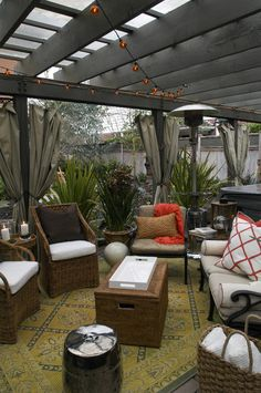 Make Room Outdoors: How To Create A Welcoming Place For Alfresco Delights.  Rooftop LoungeRooftop PatioOutdoor ...