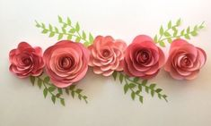 Paper flowers ROSES table scatter/ Wedding by SydneyPaperFlowers Hanging Paper Flowers, Paper Flowers Roses, Paper Flower Centerpieces, Paper Flower Wall, Wedding Table Centerpieces, Wedding Decorations, Flower Wall Backdrop, Wall Backdrops, Diy Backdrop