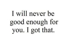 BUT... I am good enough for me and will be for someone else. I AM GOOD ENOUGH☺️