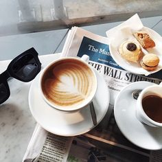 pastries | coffee | sunnies | ❀ krystalynlaura