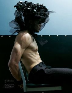 BONDAGE WARRIORS BY STEVEN KLEIN FOR VOGUE HOMMES JAPAN – SEPTEMBER 2009