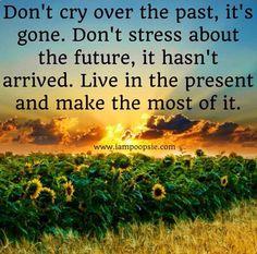 Don't stress quote via www.IamPoopsie.com