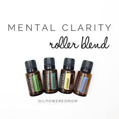 Use this doTERRA Essential Oil rollerball recipe blend to help with mental clarity: RECIPE: 12 drops LEMON 8 drops ROSEMARY 4 drops CYPRESS 2 drops PEPPERMINT Combine oils in a 10 ml roller and top with FCO. Apply to pulse points and behind the ears to hello increase mental clarity. HOW IT WORKS: LEMON: Helps with stress, concentration and emotional balance. Has a lovely, uplifting scent. ROSEMARY: Improves brain functions, ..