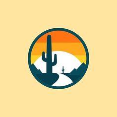 Tattoo. Sun. Cactus. Tat