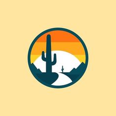 Great scenic circle. Looks a lot like Arizona. #Repost @madebymarko SUNSET #madebymarko #markostupic #marko #icon #iconaday #icons #adobe #illustrator #illustration #illustrations #design #vector #flat #art #artwork #dribbble #behance #sunset #sun #desert #cactus #cowboy #coyote #water #colorado #amazing #texas by straightnarrowdesignco