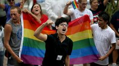 LGBTQ couples challenge Florida's ban on same-sex marriage at the Miami-Dade courthouse.