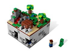 LEGO Minecraft (My oldest son INSISTED I pin this. Someone has a birthday coming up.)