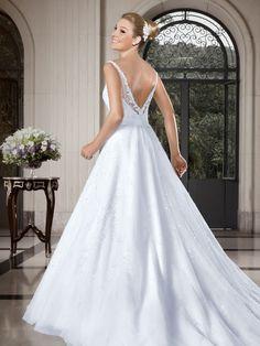 Callas 14 - costas  #coleçãocallas #vestidosdenoiva #noiva #weddingdress #bride #bridal #casamento #modanoiva