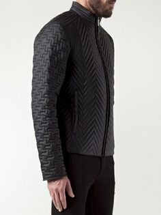 CALVIN KLEIN COLLECTION - quilted bomber jacket 9