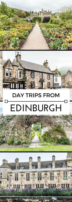 11 beautiful day trips from Edinburgh you have to take on your travels. From castles to villages, these are must-see places. #edinburgh #scotland