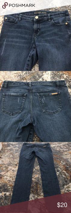 "Michael Kors distressed skinny jeans Michael Kors distressed skinny jeans. 30"" inseam Michael Kors Jeans Skinny"