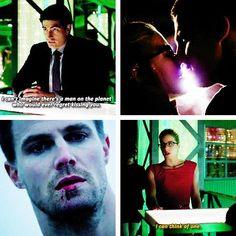 Arrow - Ray, Felicity and Oliver #3.9 #Season3