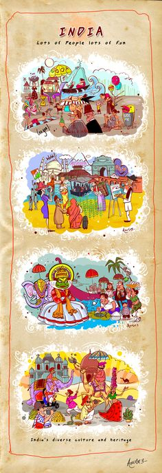 INDIA by Amol Thakur, via Behance