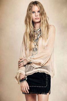 GOLDEN AGE · Fringes | We Love | Style | Fashion | Rapsodia.com