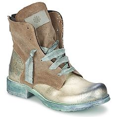 Boots / Chaussures montantes Papucei HEIDI Vert fluo - idea for customization?
