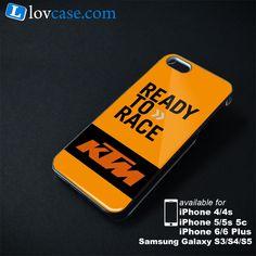 Ready To Race KTM Orange Phone Case | Apple iPhone 4/4s 5/5s 5c 6 6 Plus Samsung Galaxy S3 S4 S5 S6 S6 EDGE Hard Case