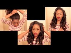 Best Braiding Pattern for Weave | Best Natural Part Sew-in Weave!!!!! | How To Make & Do Everything!
