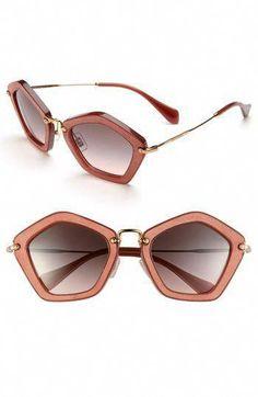 316e9cbd33 Miu miu geometric sunglasses Love these!  MiuMiu Eye Jewelry
