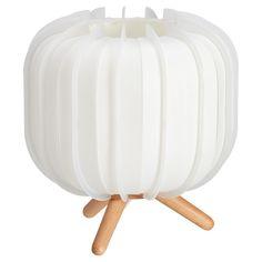 Tafellamp met speelse vorm. Grote fitting E27. 22 cm hoog. #tafellamp #kwantumstijl