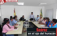 Administración municipal de Suárez en el ojo del huracán por contratación de nómina paralela [http://www.proclamadelcauca.com/2015/02/administracion-municipal-de-suarez-en-el-ojo-del-huracan-por-contratacion-de-nomina-paralela.html]