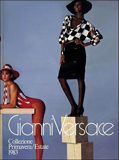 GIANNI VERSACE | Catalogo # 4  Collezione Donna Primavera/Estate 1983 (Fronte)